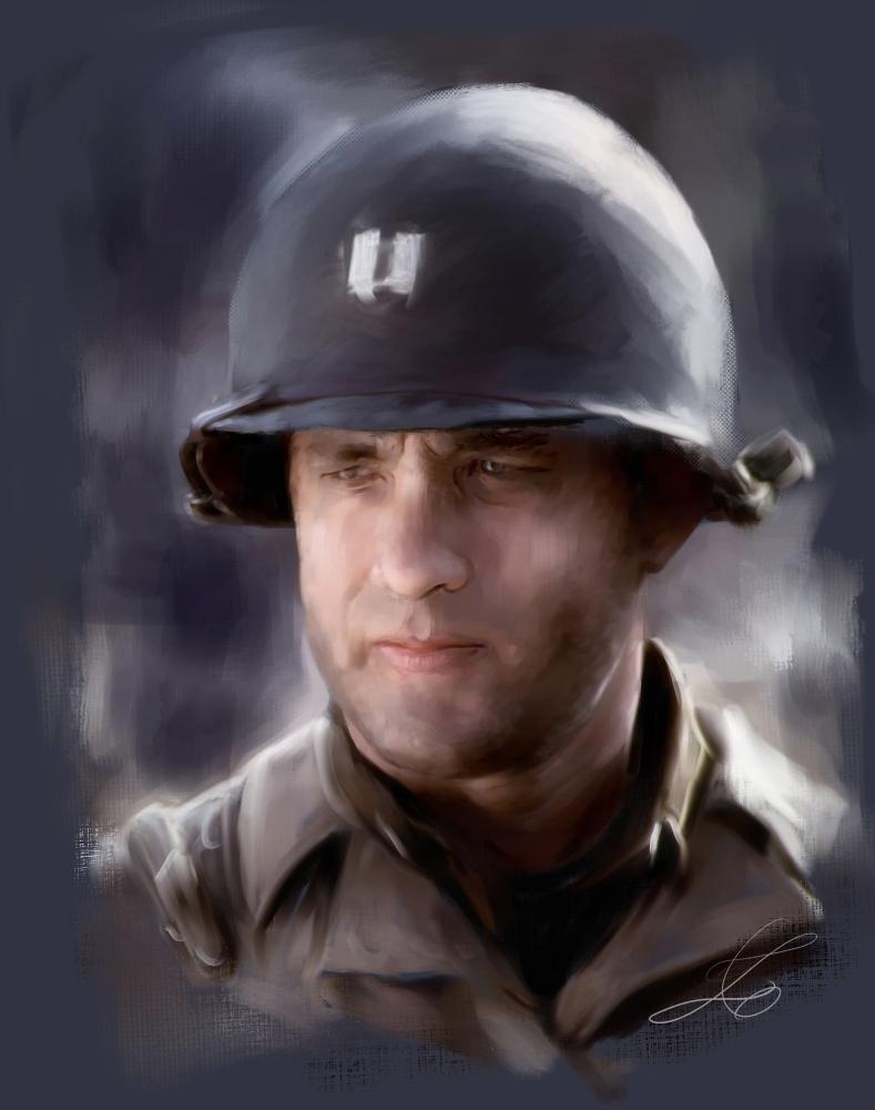 Tom Hanks by z6ig